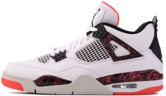 "Кроссовки Air Jordan 4 Retro Flight Nostalgia ""White/Black-Bright Crimson-Pale Citron"", 39"
