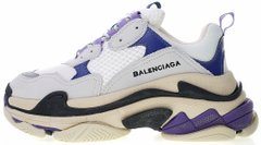 "Женские кроссовки Balenciaga Triple S ""Violet / Purple/ White"", 40"