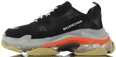Кроссовки Balenciaga Triple S Clear Sole Black/Red, 41