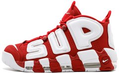 "Кроссовки Supreme x Nike Air More Uptempo Suptempo ""Red"", 40"