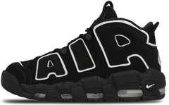 "Кроссовки Nike Air More Uptempo ""Black/White"", 45"