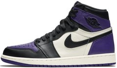 "Кроссовки Air Jordan 1 Retro High OG ""Court Purple/Sail-Black"", 45"