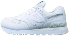 "Кроссовки New Balance 574 Luxe Leather ""White"", 45"