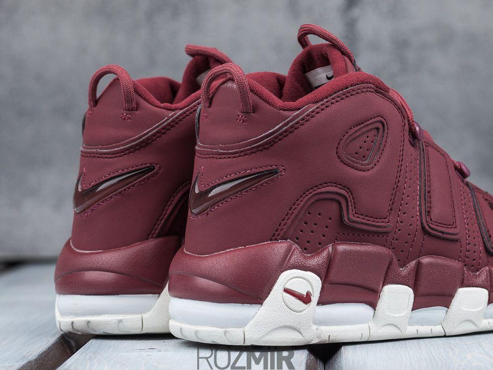 "de2a5a9b9ad17d Купить Жіночі кросівки Nike Air More Uptempo ""Night Maroon"" Бордовий ..."