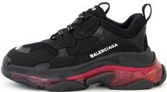 "Кроссовки Balenciaga Triple S Clear Sole ""Black/Pink"", 40"