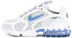 "Кроссовки Stussy x Nike Air Zoom Spiridon Caged 2 ""White/University Blue"", 45"