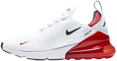 "Кроссовки Nike Air Max 270 ""White Black University Red"", 45"