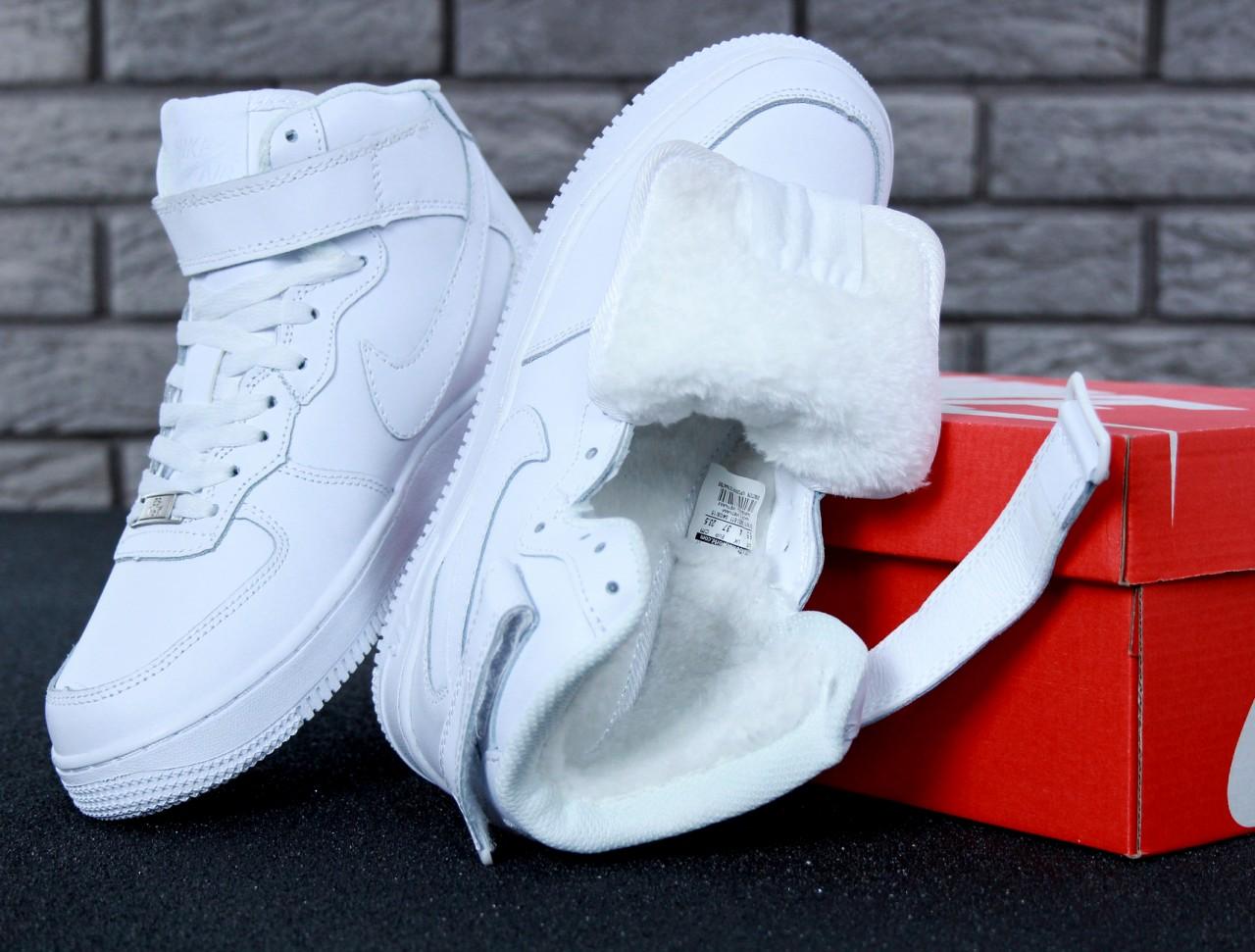 7ae14746b61eab Купить Жіночі зимові кросівки Nike Air Force High Winter
