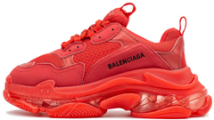 Кроссовки Balenciaga Triple S Red Clear Sole, 40