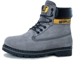 "Зимние ботинки Caterpillar Colorado Winter Boots ""Grey"" с мехом, 39"