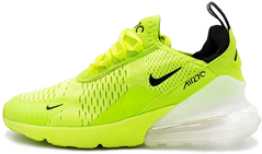 "Кроссовки Nike Air Max 270 ""Green Neon/White"", 46"
