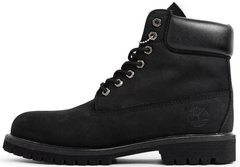 "Ботинки Timberland Winter ""Black"" с натуральным мехом, 45"