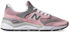 "Женские кроссовки New Balance X-90 Reconstructed MSX90RMN ""Pink /Grey/White"", 38"