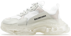 Мужские кроссовки Balenciaga Triple S Clear Sole White, 41