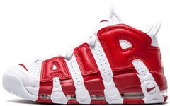 "Мужские кроссовки Nike Air More Uptempo ""White/Gym Red"", 45"