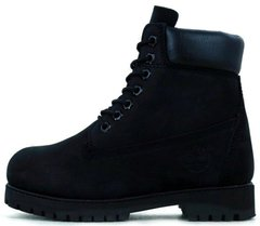 "Ботинки Timberland Winter ""Black"" с мехом, 38"