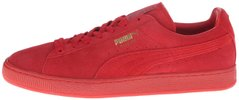 "Женские кроссовки Puma Suede Classic Mono Iced ""High Risk Red/Team Gold"", 40"