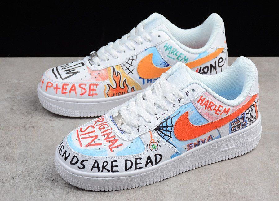 Кроссовки Pauly x Vlone Pop Nike Air Force 1 Low \