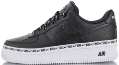 "Кроссовки Nike Air Force 1 '07 SE ""Black/Black-White"", 45"