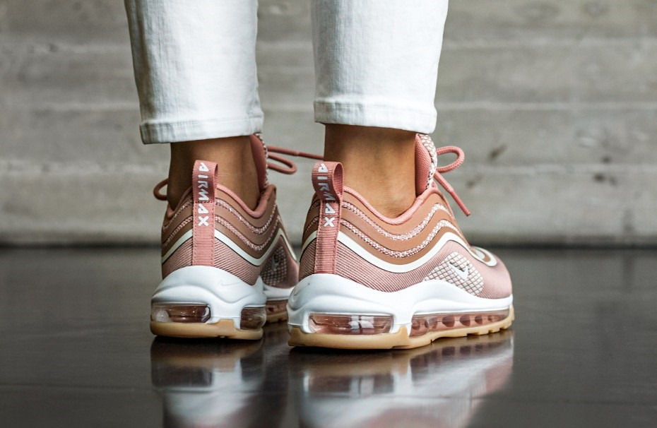"Женские кроссовки Nike Air Max 97 UL'17 ""Metallic Rose Gold/Gum Light Brown"""