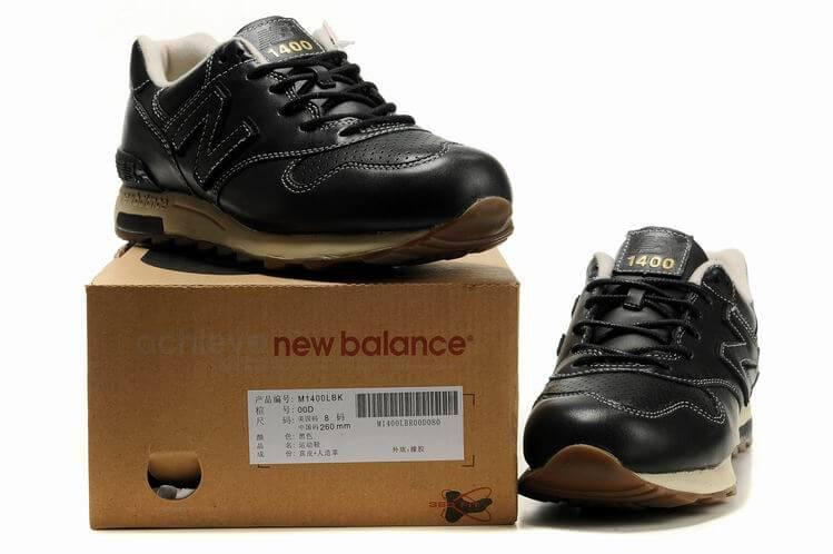 new style 71773 ecd7f ... new zealand new balance 1400 winter leather casual shoes black 17302  69341