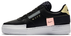 "Кроссовки Nike Air Force 1 Low Type N. 354 ""Black"", 45"