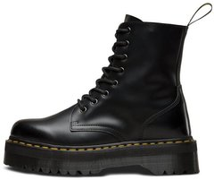 "Зимние ботинки Dr. Martens Jadon Polished Smooth ""Black"" с мехом, 37"