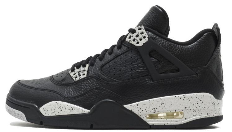 Купить Баскетбольні кросівки Air Jordan 4 Oreo Чорний F010 купити в ... 675bae3a78d7a
