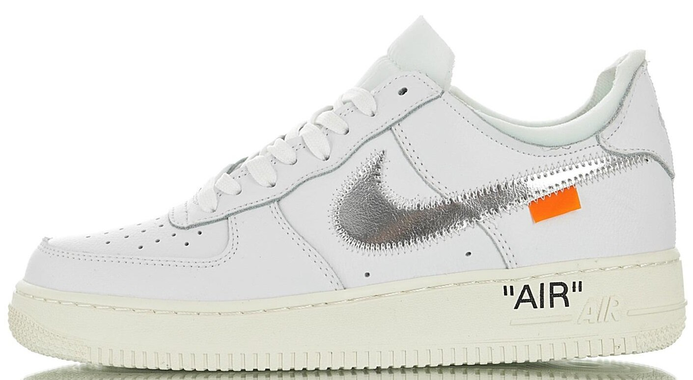 "Кроссовки OFF-WHITE x Nike Air Force 1 Low Virgil Abloh ""White"", 39"