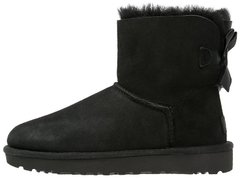 "Женские угги UGG Mini Bailey Bow II ""Black"", 40"
