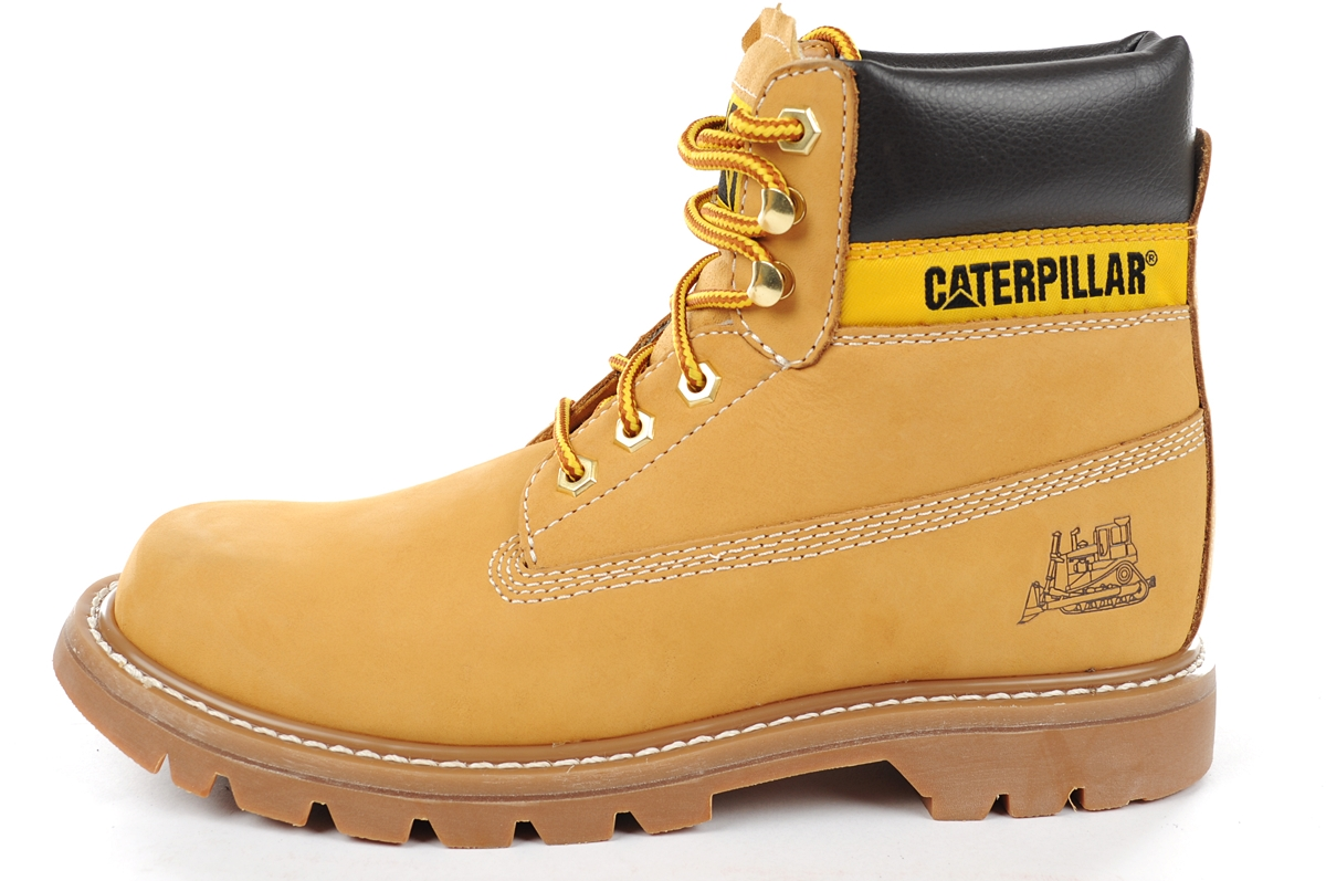 "Зимние ботинки Caterpillar Colorado Winter Boots ""Yellow"" с мехом, 39"