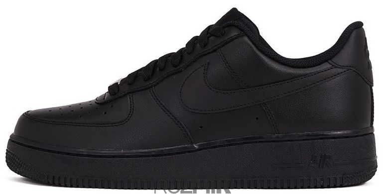 "Кроссовки Nike Air Force Low ""All Black"""