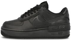 "Кроссовки Nike Air Force 1 Low Shadow ""Black"", 44"