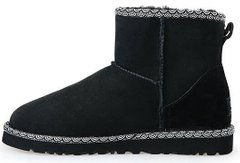 "Женские угги UGG Classic Mini Liberty ""Black"", 40"