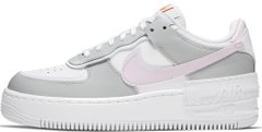 "Женские кроссовки Nike Air Force 1 Shadow ""White/Photon Dust-Pink Foam"" CZ0370-100, 40"