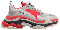 "Женские кроссовки Balenciaga Triple S ""Red/Grey/White"", 40"