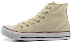 "Женские высокие кеды Converse Chuck Taylor All Star High ""Light Yellow"", 41"