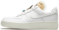 "Женские кроссовки Nike Air Force 1 '07 LX Bling ""White / Summit White / White Onyx"", 41"