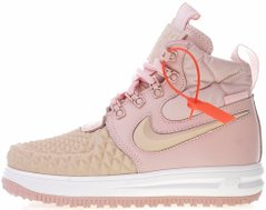 "Женские кроссовки Nike Lunar Force 1 Duckboot '17 ""Particle Pink"", 41"