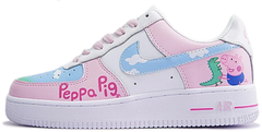 "Кроссовки Peppa Pig x Nike Air Force 1 Low ""White/Pink"", 40"