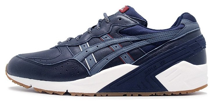 "Мужские кроссовки Packer Shoes x Asics Gel-Sight x Game Set & Match Pack ""Navy"", 44"