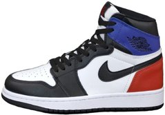 "Кроссовки Air Jordan 1 Retro High ""White/Red/Blue"", 45"