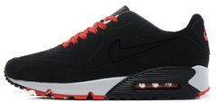 "Мужские кроссовки Nike Air Max 90 VT Tweed ""Black/Red/White"", 45"