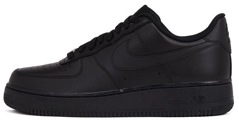 "Женские кроссовки Nike Air Force Low ""All Black"", 41"