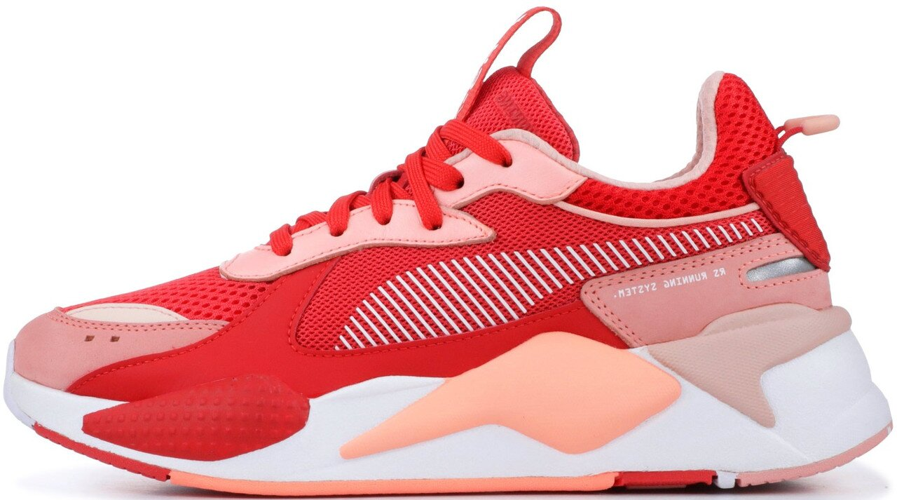 "Женские кроссовки Puma RS-X Toys ""Bright Peach / High Risk Red"", 38"