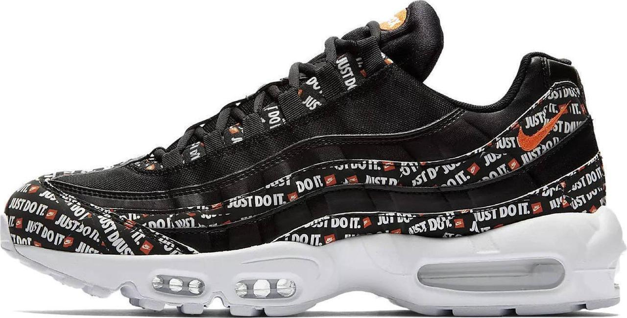 "Женские кроссовки Nike Air Max 95 Just Do It SE ""Black/White/Total Orange"", 40"