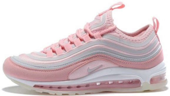 "Женские кроссовки Nike Air Max 97 Ultra '17 ""Rose/White"", 40"