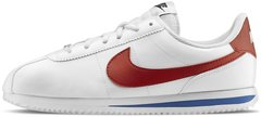 "Мужские кроссовки Nike Classic Cortez Leather ""White/Varsity Red"", 45"