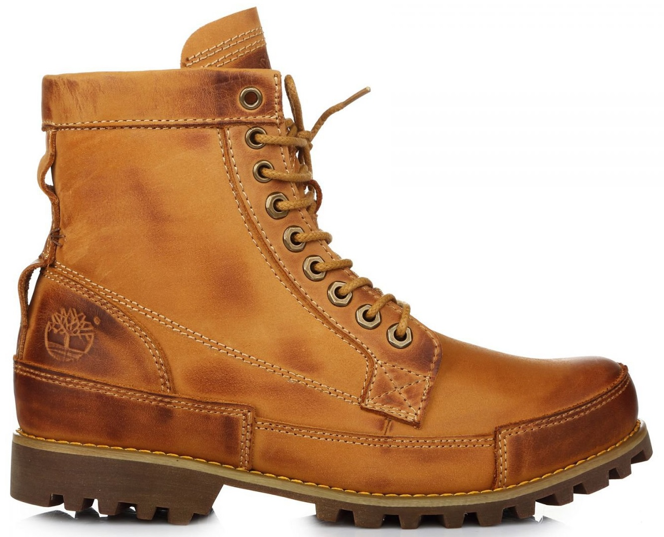 "Мужские ботинки Timberland Earthkeepers Rugged High Classic ""Yellow"", 42"
