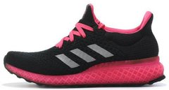 "Женские кроссовки Adidas Ultra Boost FutureCraft 3D ""Black/Pink"", 38"